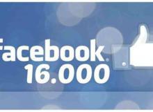 16000 fans facebook