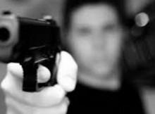 robo moto punta de pistola asalto arma de fuego mediamza