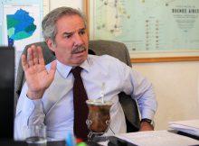 Entrevista a Felipe Sola en su despacho del anexo del Congreso. Foto: Guadalupe Aizaga 13/05/2013