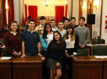 1º sesión Parlamento Estudiantil (9)