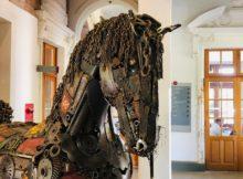 Esculturas en hierro (2)