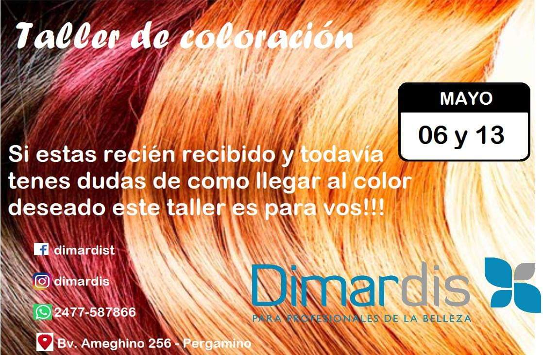 taller de coloracion