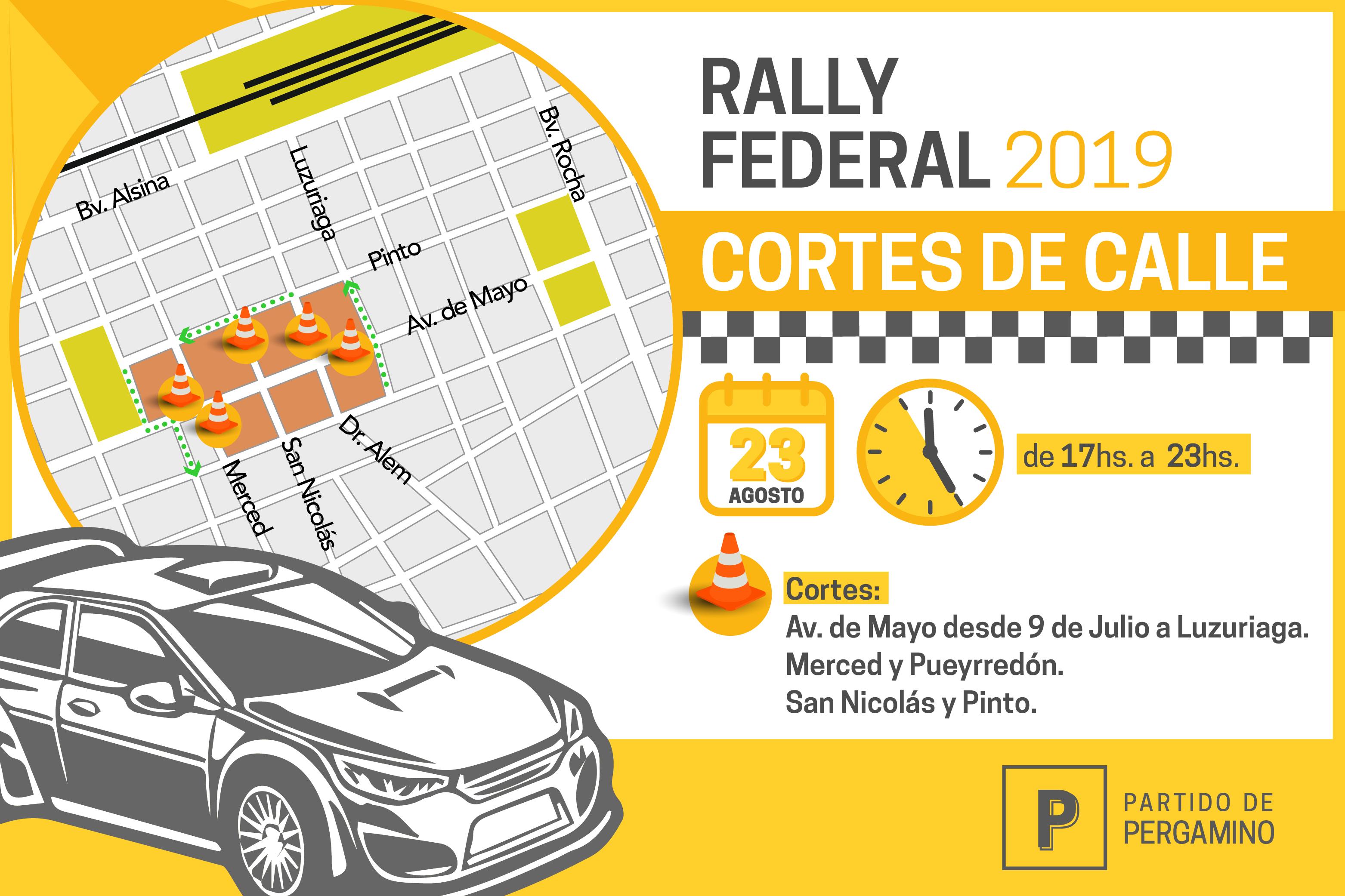 Corte de Calles Rally Federal-01