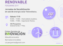 Flyer energías renovable
